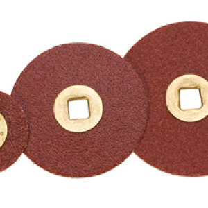 brass centered sanding discs