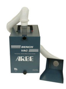 Charcoal Filter Jewelers Bench Vac System With Optional Bench Pin Vac