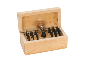 concave stone setting punch set