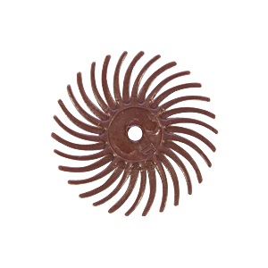 3m radial wheel 220 grit red