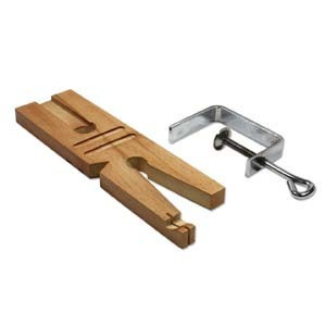 multi purpose bench pin with clamp