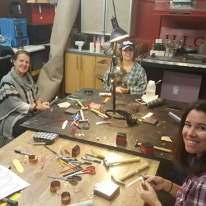 girls night metalsmith